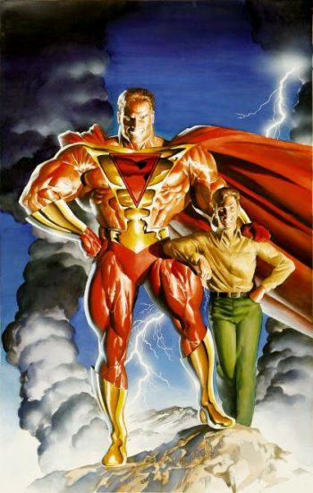 Prime and his alter ego Kevin Green by Alex Ross.